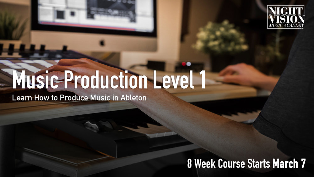 Ableton Live Lessons in Edmonton