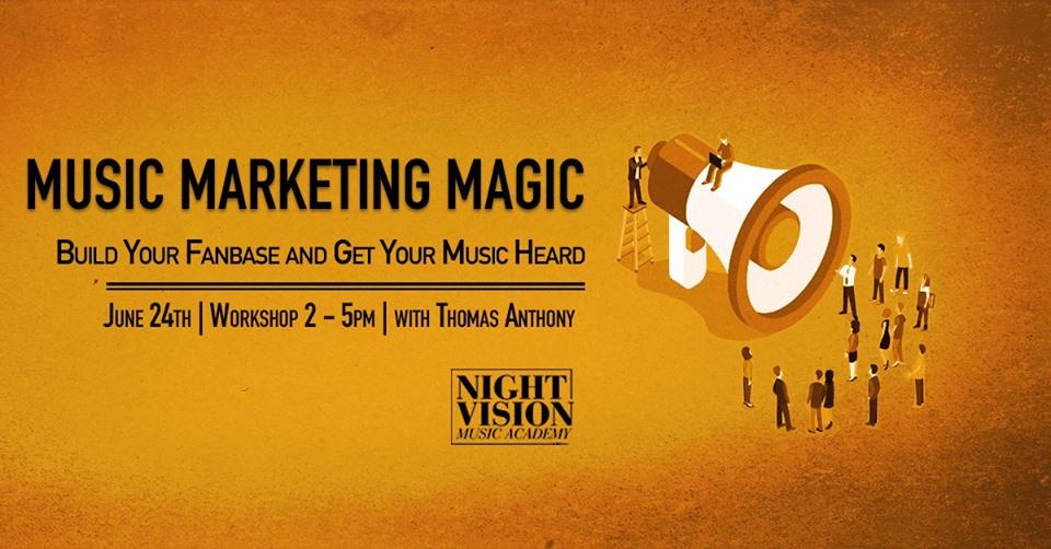 Market Your Music Edmonton