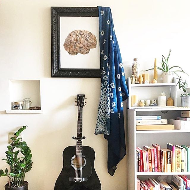 #BODYBRAIN poster in a beautiful home. 📷 by @emjneves #bodythoughts