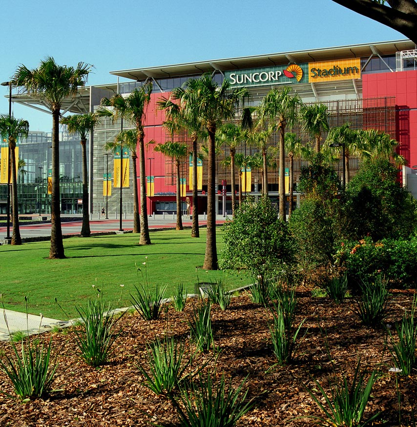 Suncorp Stadium Plaza Landscape
