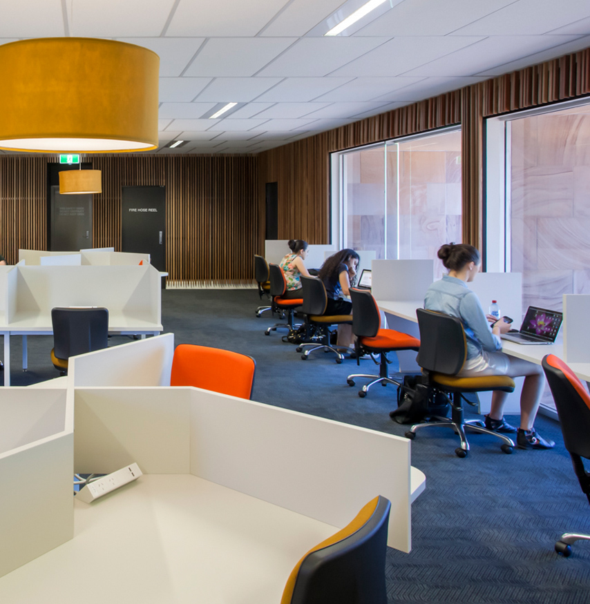 Bond University Lakeside Study Room