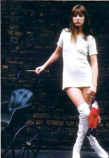 Jane Birkin, chic and classy.