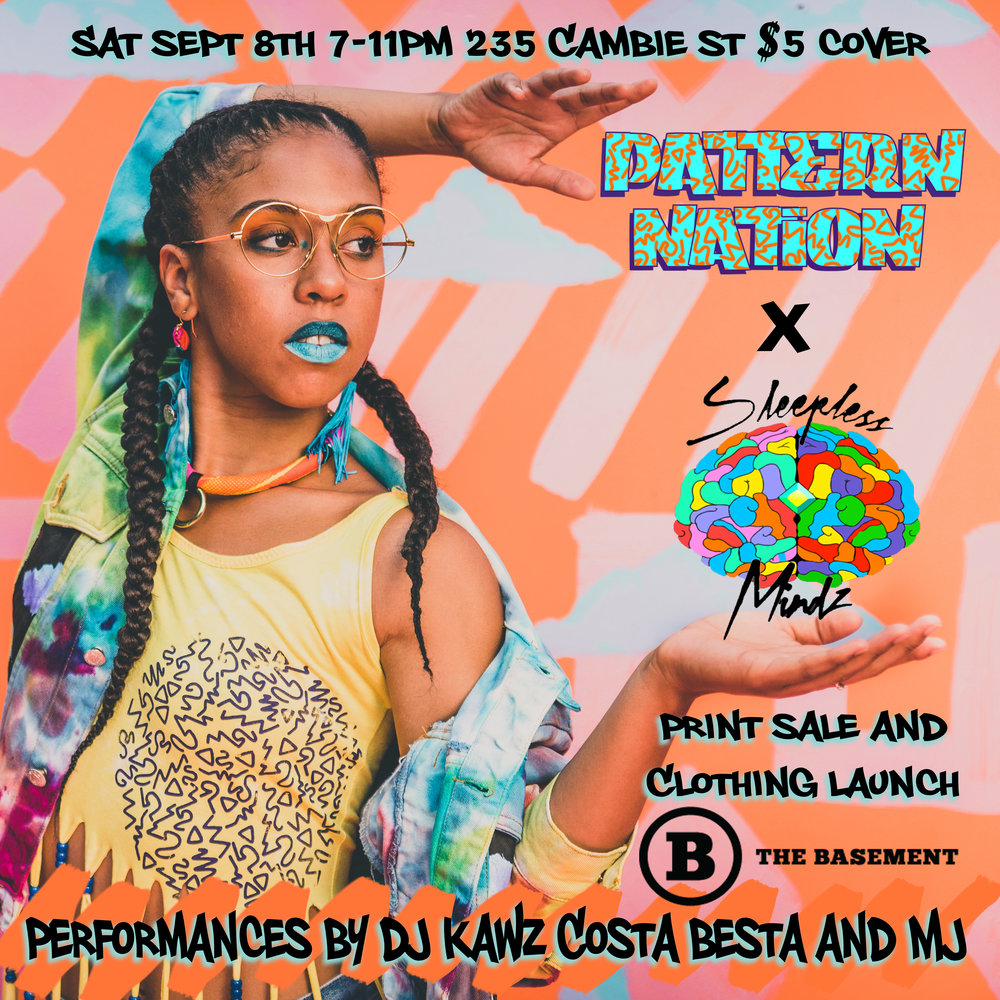 Sept 8th Clothing Launch and Print Sale @ The Basement