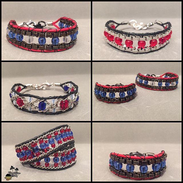 🌴BeachBum Candy 'Go Texans' #bracelets 🌴 #houstontexans #fashion #nfl #houston #redblue #fashion #jewelry #handmade #beachbumcandy