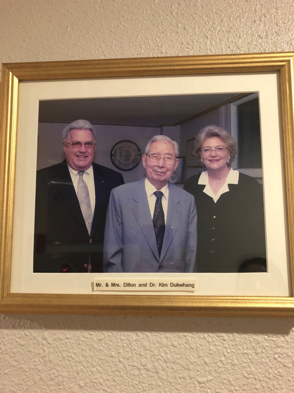 Founders of Dillon International, my American adoption agency, along with the Founder of Eastern