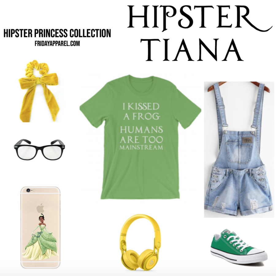Hipster Tiana Hipster Disney Princess Outfit by Friday Apparel