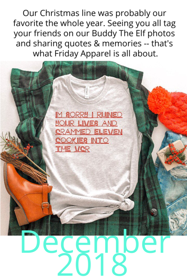 Friday Apparel Best of 2018