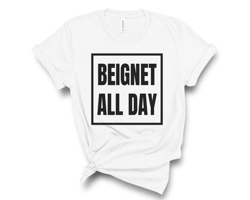 Beignet All Day Tee