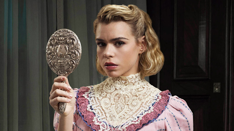 Billie Piper as the doll-like Lily in Penny Dreadful