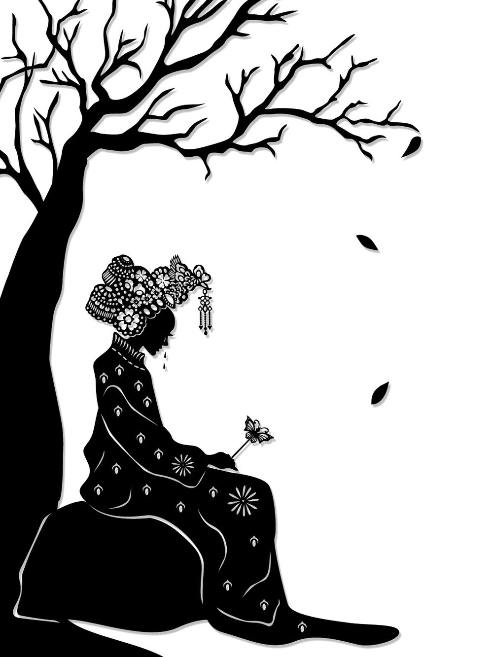 The Butterfly Lovers : Zhu Yingtai weeps in her bridal finery