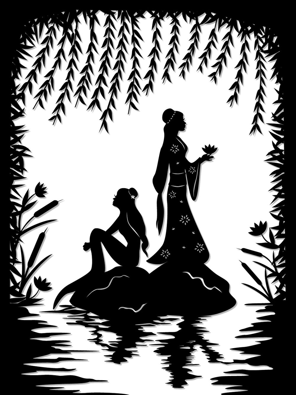Lady White Snake : Bai Suzhen and Xiao Qing