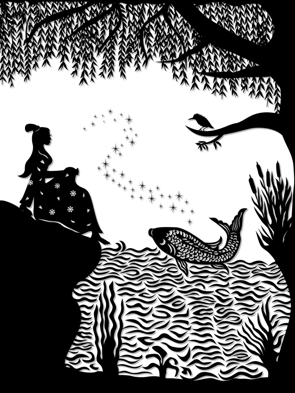 Ye Xian : Ye Xian and the magic golden fish