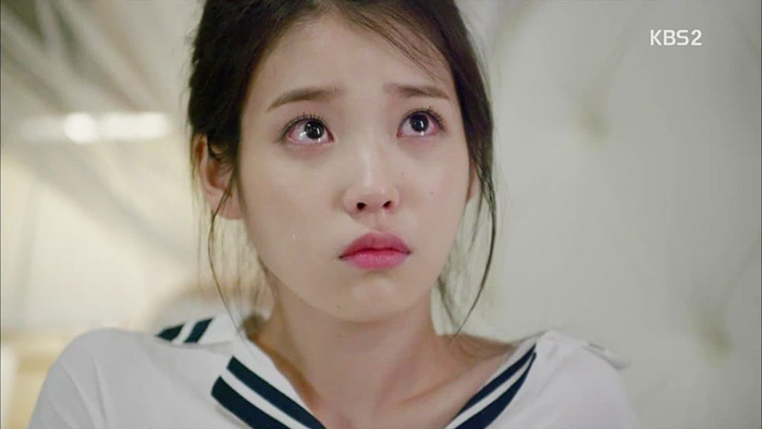 IU in a scene from  The Producers