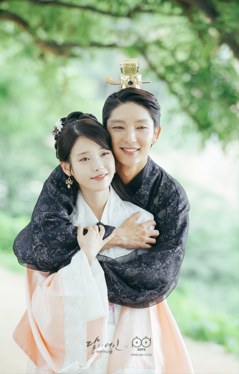 IU and Lee Jun Ki as star-crossed lovers in  Moon Lovers