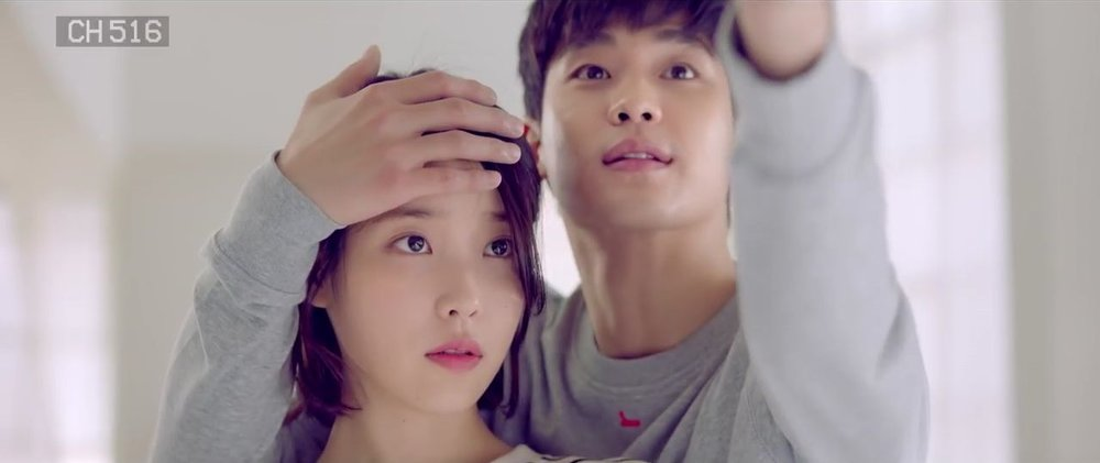 IU and Kim Soo Hyun in 'Ending Scene'