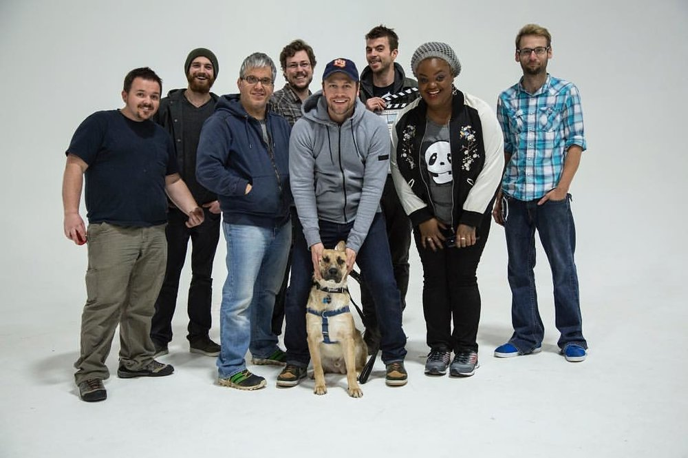 The crew and team (and Griffey) who came together to make #Hashtag happen! Shot at Splash Worldwide.