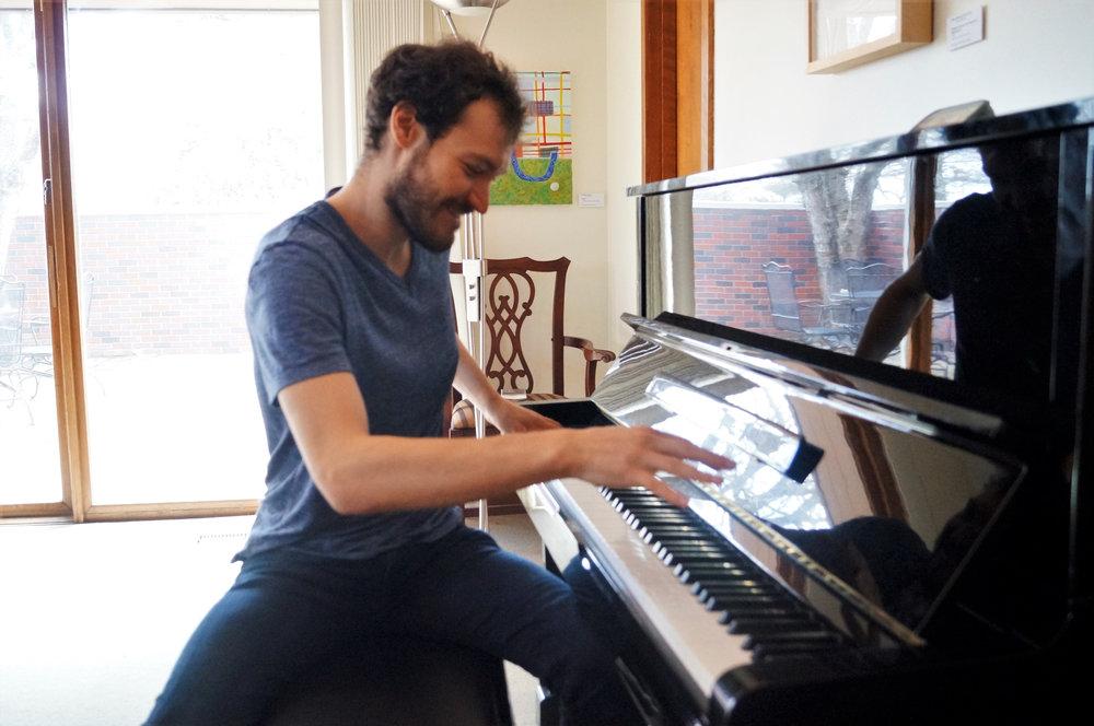 Piano-banging in Nebraska