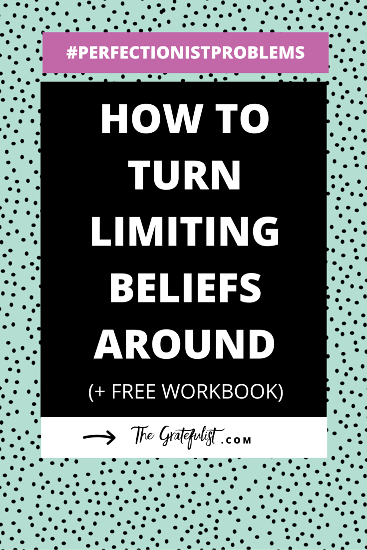 How to turn limiting beliefs around - Perfectionism and limiting beliefs are best buddies. Perfectionism is both the result of limiting beliefs and it also thrives off of it. Are you soul-connected yet stressed-out creative? Are you a recovering perfectionist? Then you need to read this blog post. Learn all about the 4 questions you can ask yourself to start turning those limiting beliefs around. Oh, and there's also a free workbook waiting for you. Win! Click through and get your hands on that workbook!