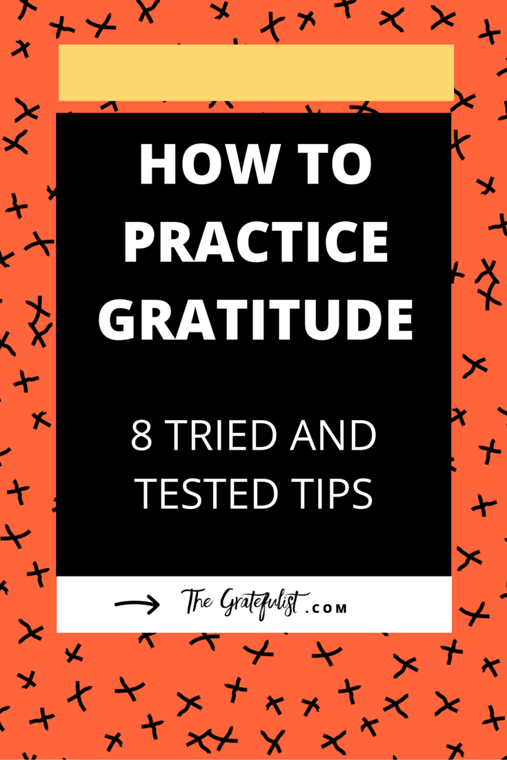 How to Practice Gratitude: 8 Tried and Tested Tips - Wanna go from stressed-out to blissed-out? Being grateful is a guaranteed way to take your stress level down a notch, which is something all of us creatives and business owners need, right?! There are many ways to practice gratitude. Click through to find out which methods I tried and tested, from the good, old fashioned gratitude journal to apps, letters, and buckets. 'Buckets?!', you say... Follow the link to find out what that (and the other ways to practice gratitude) is.