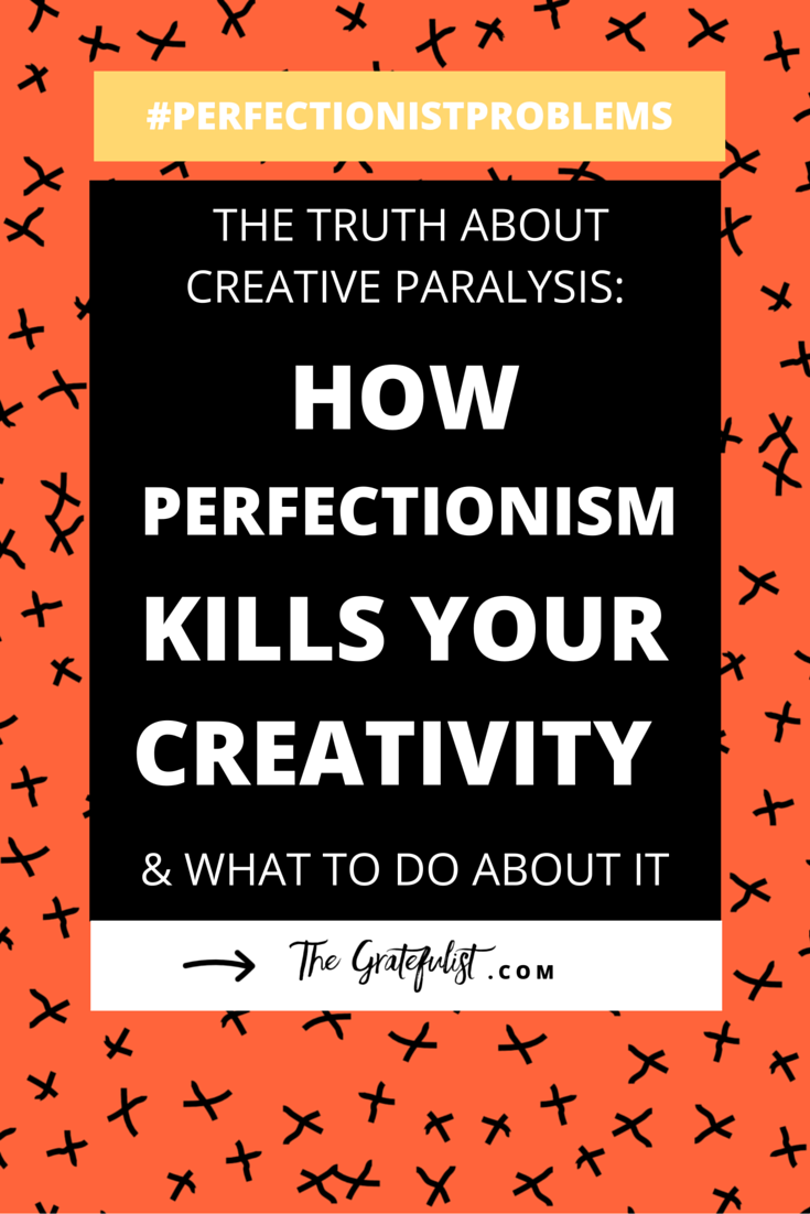The truth about creative paralysis: how perfectionism kills your creativity (and what to do about it) -We're back with the #perfectionistproblems series for soul-connected creatives all about how perfectionism negatively influences you (creative) life. Today we're diving deep into how perfectionism is a creativity killer and what to do about it. There's even a FREE workbook involved! Click through to learn more.