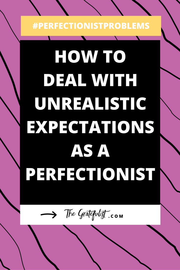 We're onto the 16th episode of the #perfectionistproblems series for soul-connected yet stressed-out creatives and recovering perfectionists. Do you struggle with high standards and unrealistic expectations you have for yourself or for others? Click through to learn all about the 4 questions you can ask to reality-check your expectations. Plus there's a FREE workbook!