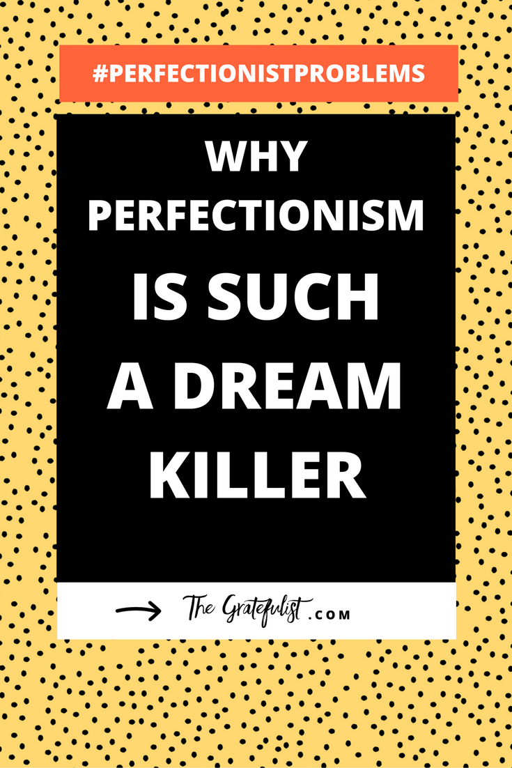 This is the 17th and final (aww!) episode of the #perfectionistproblems series for soul-connected yet stressed-out creatives and recovering perfectionists. This episode is about a topic that sums up all of the perfectionist problems. The greatest tragedy when it comes to perfectionism is that it kills your dreams. Click through to learn why perfectionism is such a dream killer. Plus there's a FREE workbook!