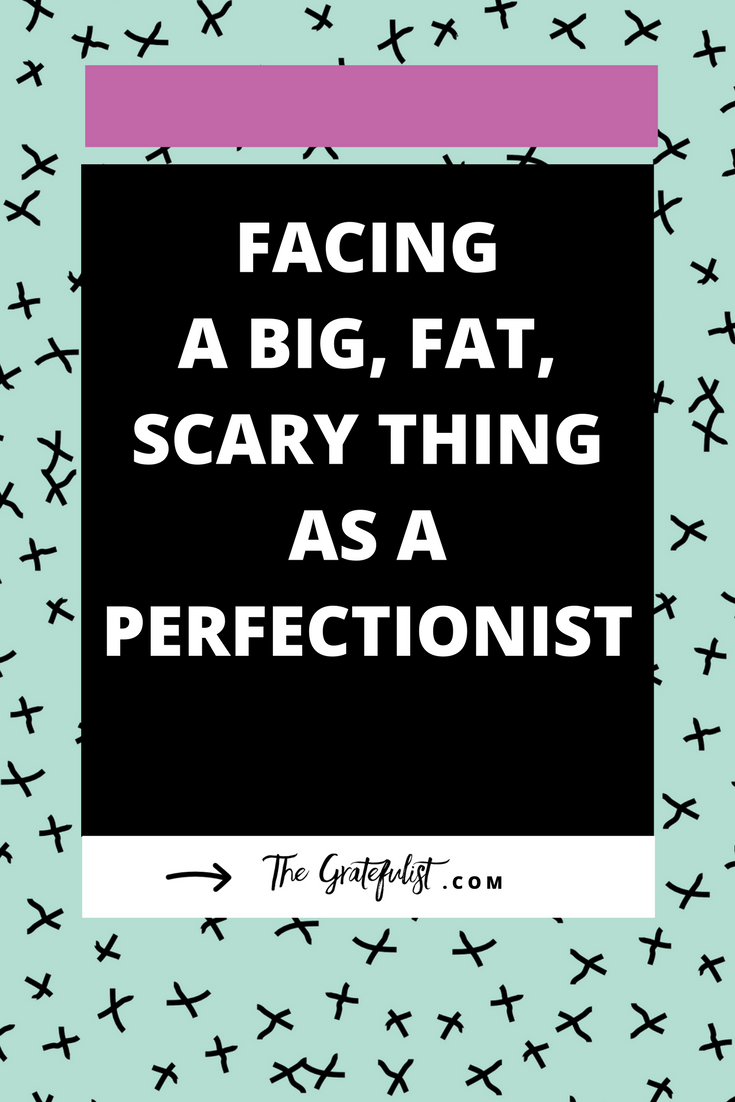 I was featured on the Couragemakers podcast and got to talk about starting The Gratefulist, practicing gratitude, and letting go of my perfectionism. The thing about dealing with perfectionism is that, even though you can manage it on a day to day basis, when something new happens those perfectionist tendencies come back in full force.Now, your big, fat, scary thing might not be the same as mine, but it affects us the same. Click through to read the lessons I learned along the way.