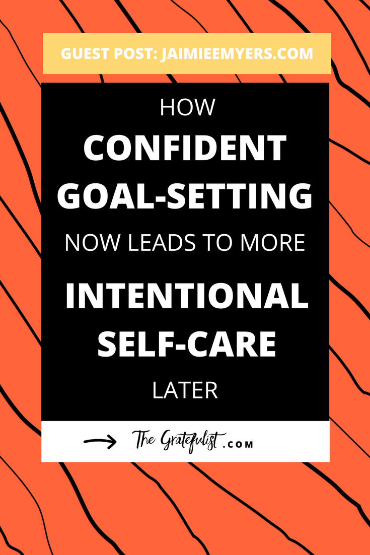 How intentional self-care now leads to more confident goal-setting later - Introducing Create with Confidence for creatives who know that you can give more from a fuller cup and, through that process, you are able to find your most confident self. Click through to read the entire post!