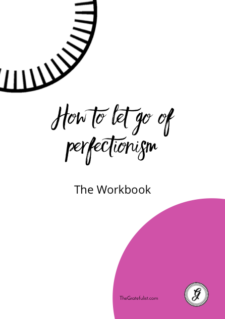 The Gratefulist perfectionism Workbook