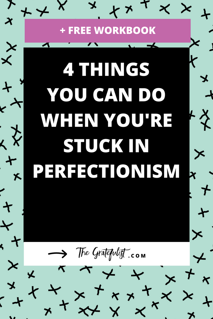 I'm not alone in my struggle with perfectionism. I know many of you face the same struggle every day. But there are things you can do when you're stuck in perfectionism and you feel this urge to perfect, perform, and please. Click through to read all about these four strategies.Plus, there's a free perfectionism-busting workbook!