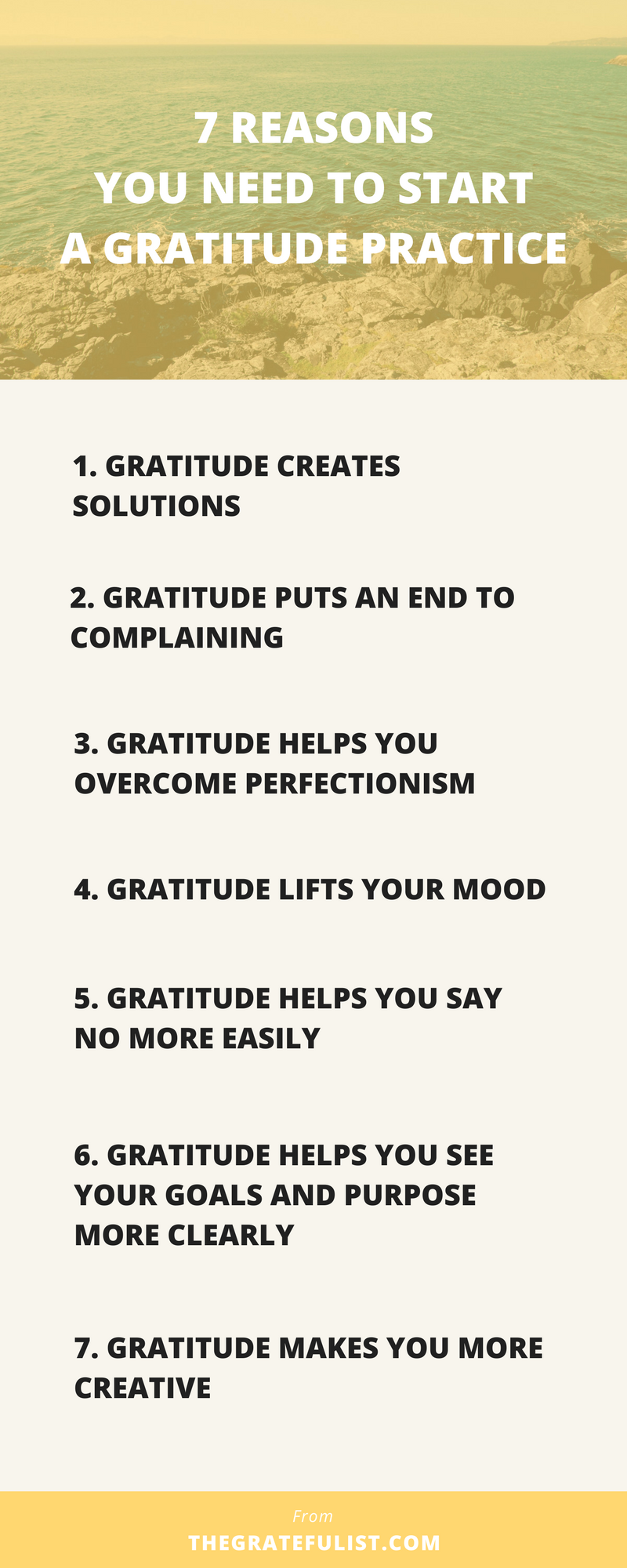 Starting a gratitude practice is the best choice I've ever made. Not only does practicing gratitude have many benefits for body and mind, gratitude also has a few practical benefits that will help make your day-to-day life easier, less stressful, and more fulfilling. In fact, there are 7 practical reasons you need to start a gratitude practice today. Whaaat! Click through to learn all about them. Plus, there's a free gratitude toolbox waiting for you!