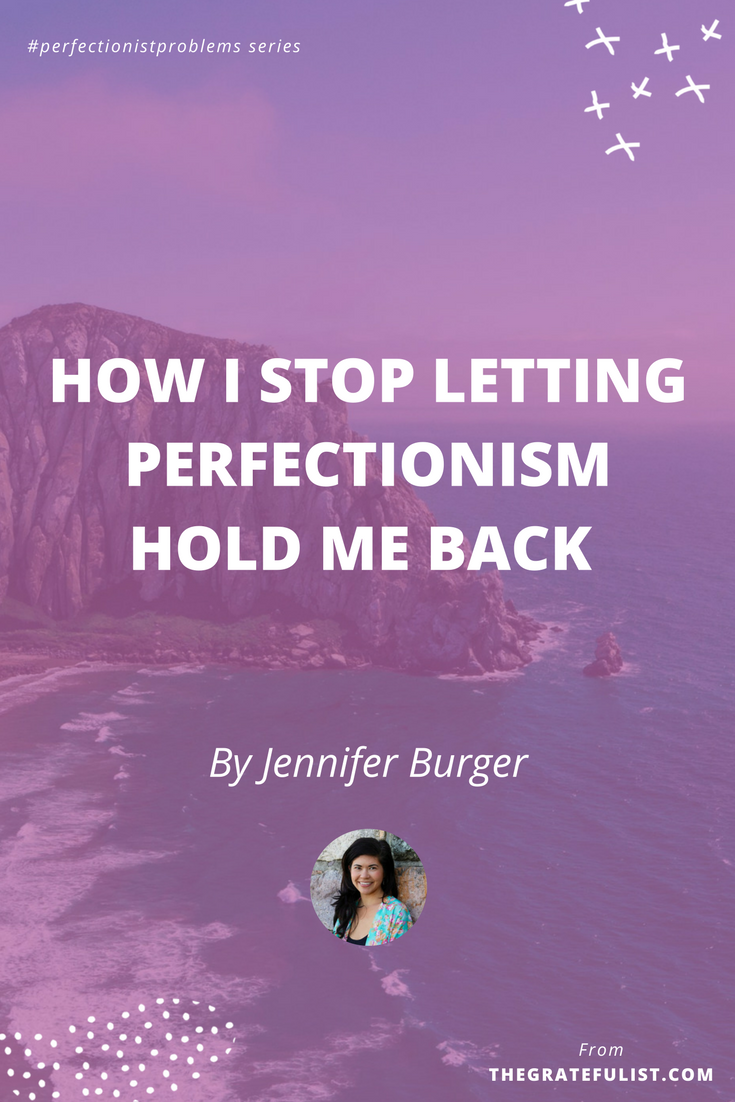 How I stop letting perfectionism hold me back by Jennifer Burger of Simply + Fiercely - With the #perfectionistproblems interview series it's my mission to help creatives let go of their perfectionism and embrace their perfectly imperfect selves through sharing real honest stories, insights, and experiences of dealing with perfectionism. Click through to read the entire interview. Plus, there's a free perfectionism-busting workbook!