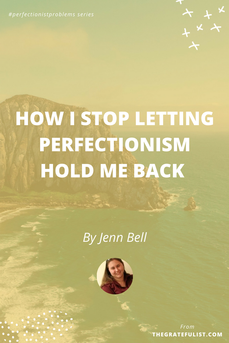 How I stop letting perfectionism hold me back by Jenn Bell - With the #perfectionistproblems interview series it's my mission to help creatives let go of their perfectionism and embrace their perfectly imperfect selves through sharing real honest stories, insights, and experiences of dealing with perfectionism. Click through to read the entire interview. Plus, there's a free perfectionism-busting workbook!