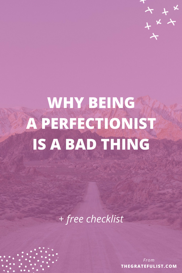 Why Being a Perfectionist Is a Bad Thing - After years of being proud to be a perfectionist I decided to get real with myself and acknowledge that it wasn't bringing me success, fulfillment, or happiness. Are you a hardworking, perfectly imperfect creative like me and are you ready to let go of your perfectionism? I'm busting a few perfectionist myths in this blog post - woohoo! Plus, click through to get a free checklist!
