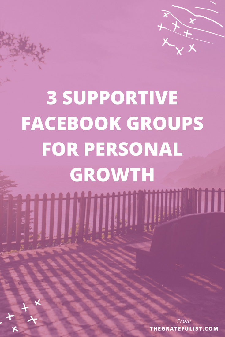 Have you ever joined a Facebook group thinking that it would be a cool group to hang out in, full of sweet and encouraging people, only to find out that, in fact, it's full of slimy, self-promoting people? Yeah, me too. So, in no particular order, here are 3 Facebook groups worth joining if you're interested in personal growth, self-improvement, and letting go of perfectionism.