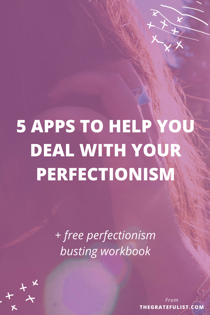 I don't know about you but my perfectionism shows up at the most inconvenient times or when I'm doing the smallest, most random tasks.What if there's a way to stop it? Because, as a perfectionist, you need all the help you can get in dealing with your perfectionism, right?! Enter… apps! I've rounded up the 5 most effective apps for dealing with perfectionism. Click through to read about all 5 apps and to download your free workbook.