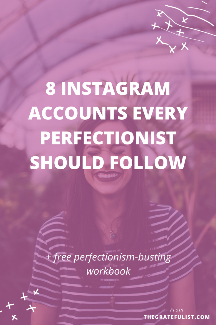 I've found 8 Instagram accounts every perfectionist should follow. These relatable and inspiring Instagram feeds share what it's really like to let go of the hustle of perfectionism and embrace your perfectly imperfect self instead. Overcoming perfectionism / recovering perfectionist / perfectionism quotes / perfectionism inspiration / progress not perfection /perfectionism definition / let go of perfectionism / stop being a perfectionist