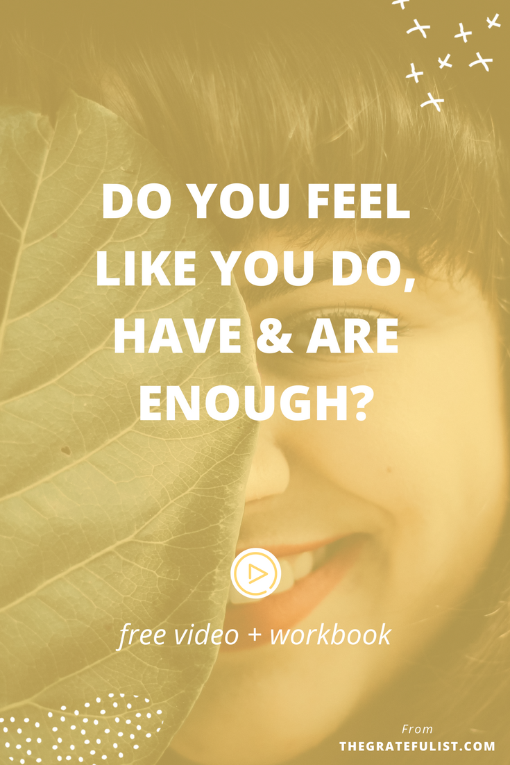 Do you struggle with 'enough'? Do you feel like you're not pretty enough, not thin enough, not successful enough, not perfect enough? Click through to watch the video, read my encouraging words, and download your FREE workbook. Overcoming perfectionism / recovering perfectionist / perfectionism quotes / perfectionism inspiration / progress not perfection / perfectionist / perfectionism definition / let go of perfectionism / stop being a perfectionist