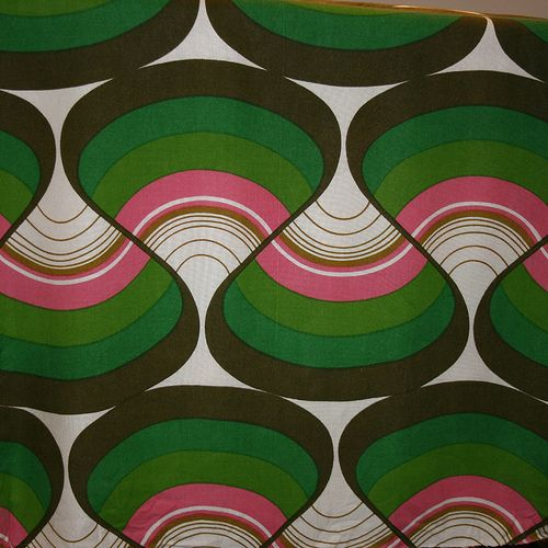 1970's Art Fabric | Pinterest