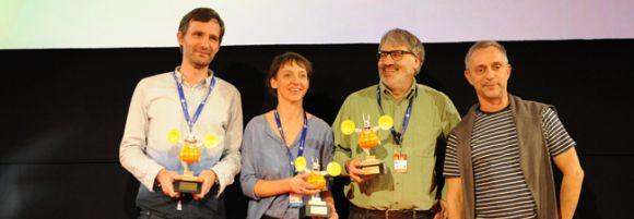 Yderst til venstre: Distributionschef Peter Sølvsten Thomsen