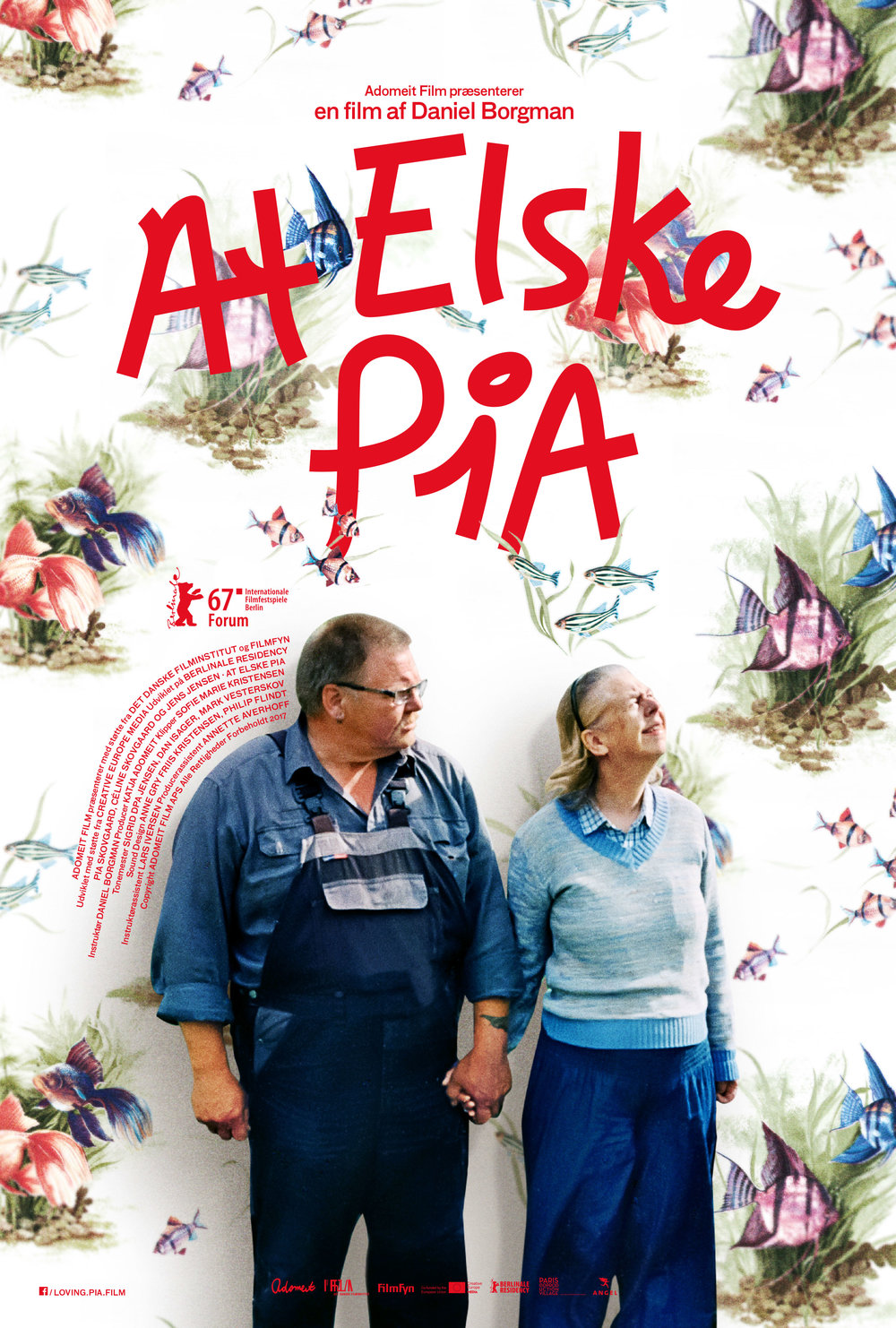 at elske pia plakat