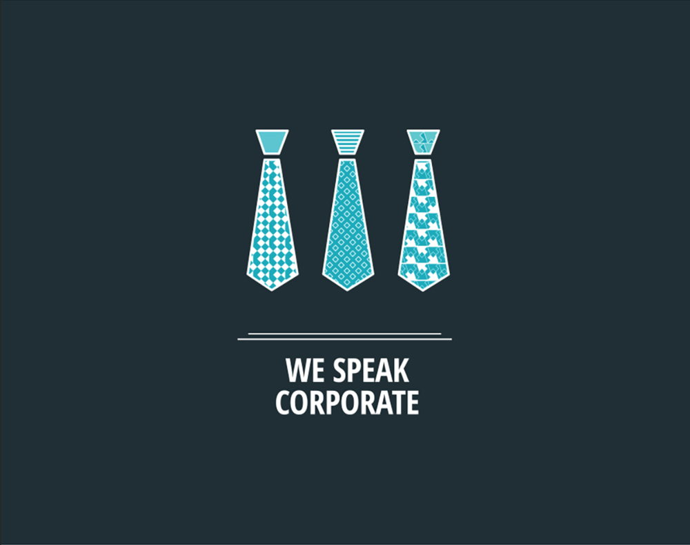 we speak corporate