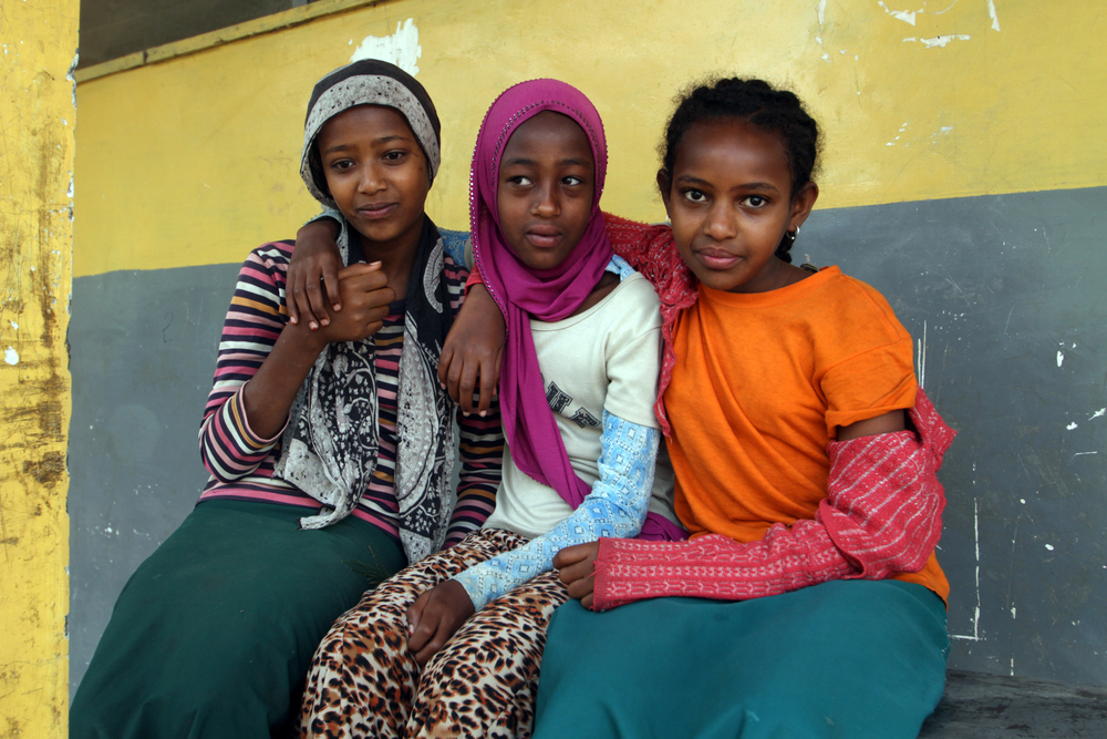 Girls in Ethiopia