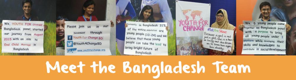 meet the bangladesh team