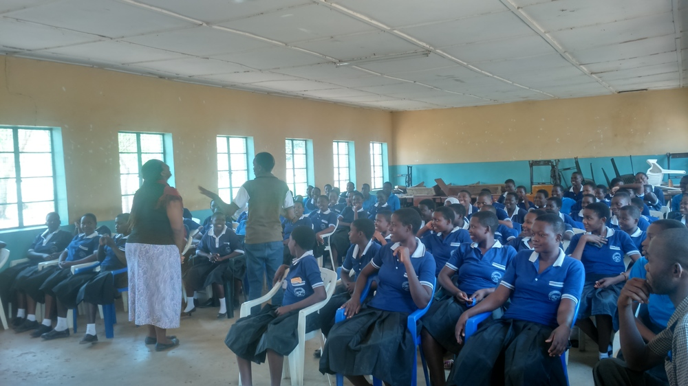 Youth for Change workshop in Tanzania's Shinyanga region