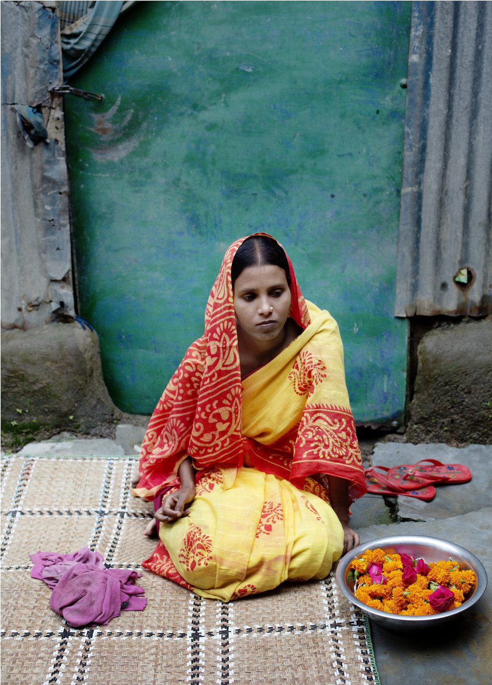 Bangladeshi child bride Sharina (Credit: Plan International)