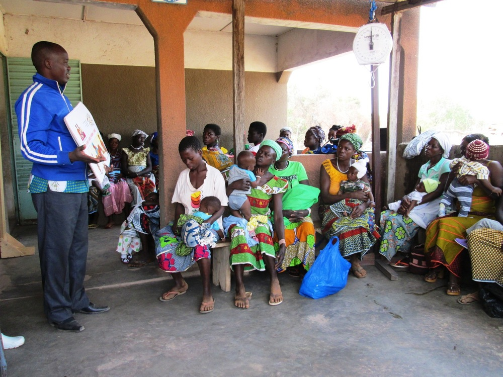 Women recieving HIV sensitisation training in Uganda [Credit: Plan]