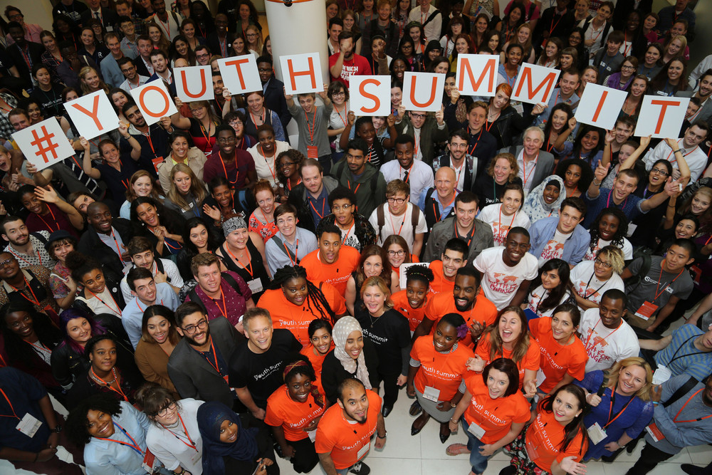 DFID UK's Youth Summit, September 2016 [Credit: DFID UK]