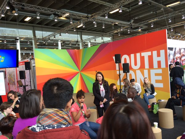 The Youth Zone at Women Deliver 2016 [Credit: Youth Deliver}