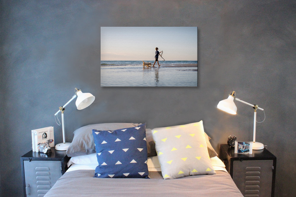 Make a statement - Our wall art is available as canvases, framed photographs, or our newest option, wood panels. Each of these timeless options are presented ready to hang, to transform your house into a home.Individual Wall Art from $990Wall Art Collections from $2200